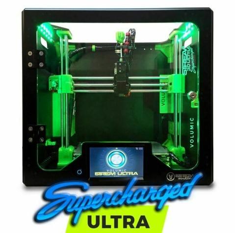 Volumic Stream 30 Ultra SUPERCHARGED ALU / NOIR